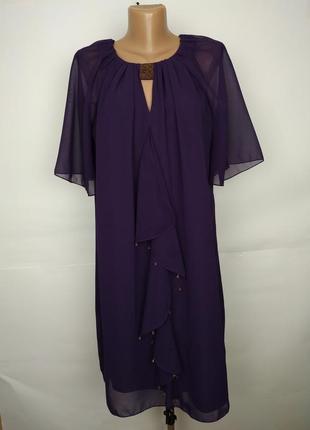 Платье новое шифоновое легкое воздушное красивое tu uk 14/42/l