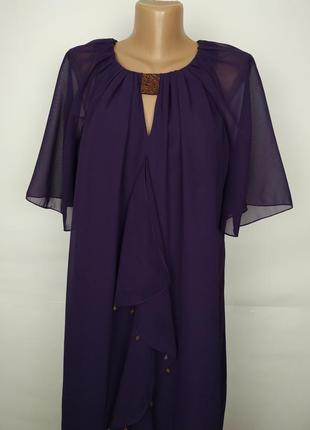 Платье новое шифоновое легкое воздушное красивое tu uk 14/42/l4 фото