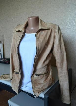 Кожаная куртка chevirex. германия.