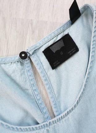 Джинсовый комбинезон штанами, брючный комбинезон xs-s9 фото