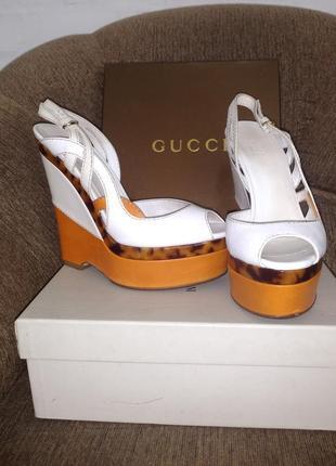 Gucci босоножки