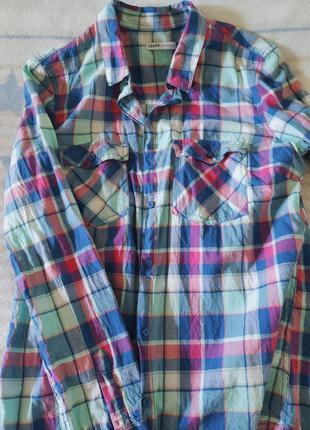Хлопковая рубашка сropp новая