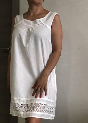 Летнее платье из коттона