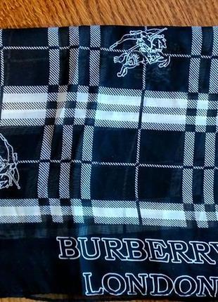 Шёлковый платок burberry