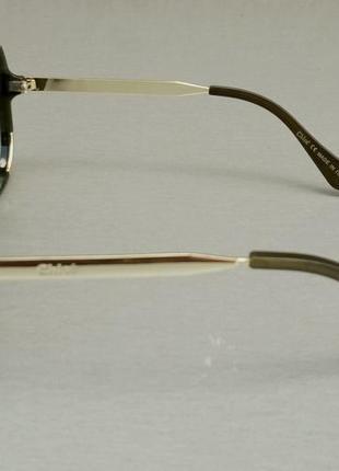 Chloe очки женские солнцезащитные большие с градиентом зеленые4 фото