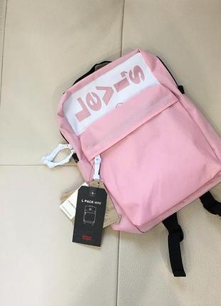 Оригинальный миниатюрный рюкзак levi`s ® l pack lazy tab