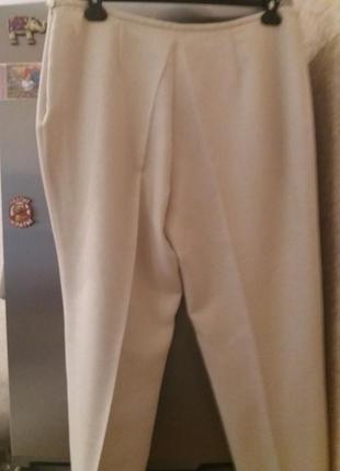 Нежно-бежевые брюки -plus-size--от-gaticceli--54р  бз3 фото