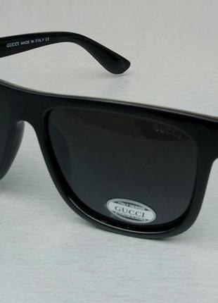 Gucci очки мужские солнцезащитные поляризированые черные