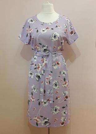 Шикарное платье из льна