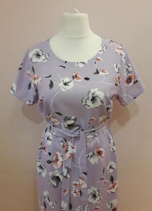 Шикарное платье из льна2 фото