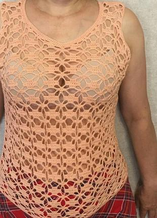 Блуза ручной работы