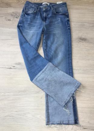 Крутые джинсы с рванью