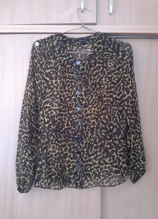 Тренд.100% шелк.  качественна оригинальная блузка jaeger . оригинал