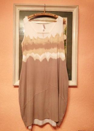 Красивое трикотажное  платье-кокон от marla wynne