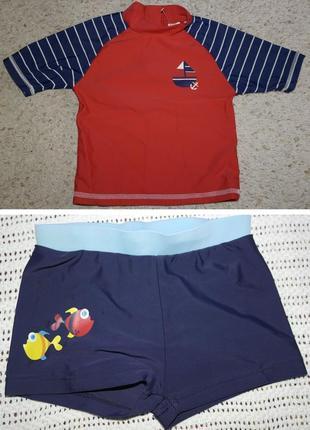 Miniclub плавки футболка для плаванья комплект