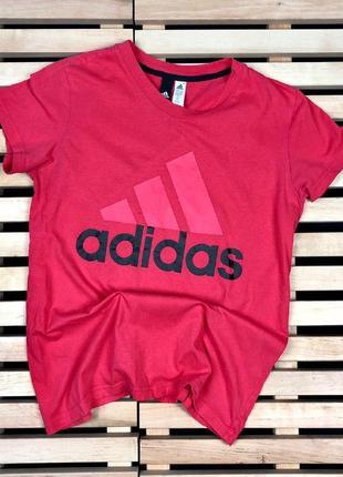 Шикарная футболка adidas размер l