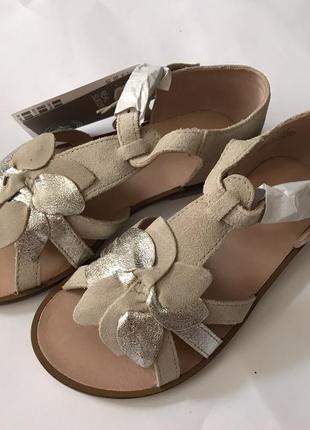 Замшевые сандалии h&m premium quality 30 размер4 фото