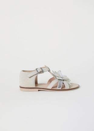 Замшевые сандалии h&m premium quality 30 размер