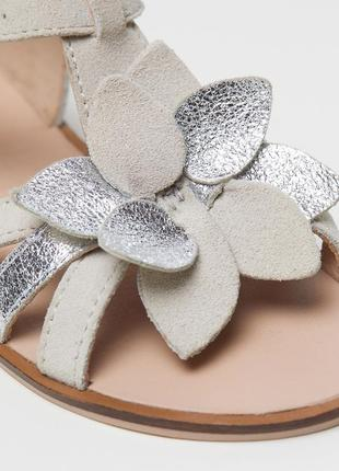 Замшевые сандалии h&m premium quality 30 размер3 фото