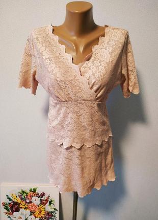 Кружевная красивая блуза / горячая цена/ скидки!