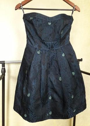 Нарядное жакардовое платье   spotlignt