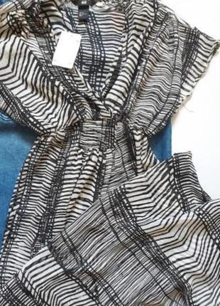 Воздушное летящее летнее пляжное макси платье
