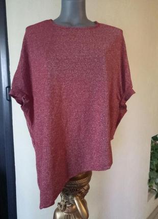 Итальянская искристая блуза