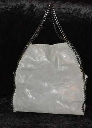 Красивая кожаная сумка vera pelle