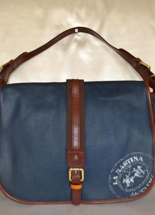 Мужская фирменная сумка la martina, оригинал