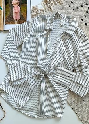 Стильная рубашка с переплетом от river island1 фото