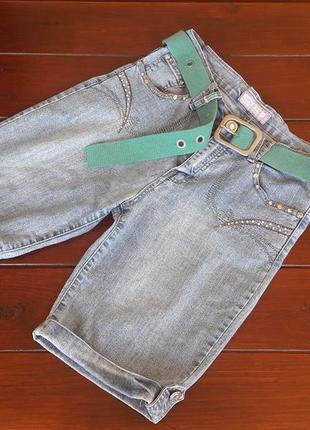 Шорты бриджи джинсовые v8v