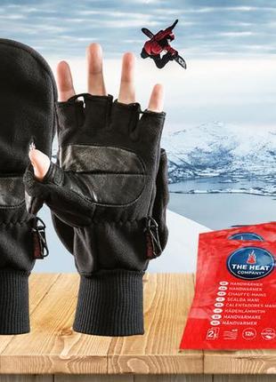 Ветрозащитные водоотталкивающие перчатки рукавицы кожаные