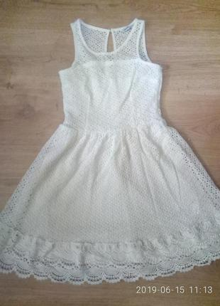 Crop платье летние