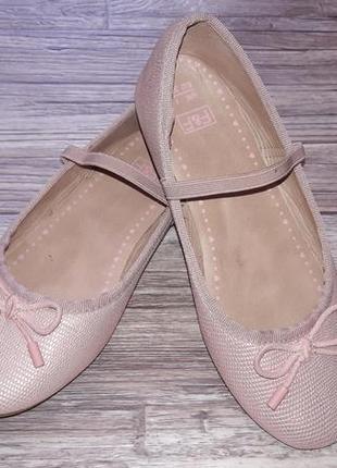 Пудровые балетки р.33