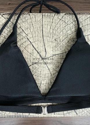 Черный верх купальника лиф 💥3 фото