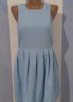 Брендова лляна сукня від gap