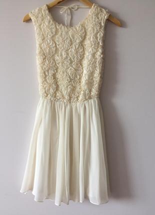 Сукня з відкритою спинкою asos