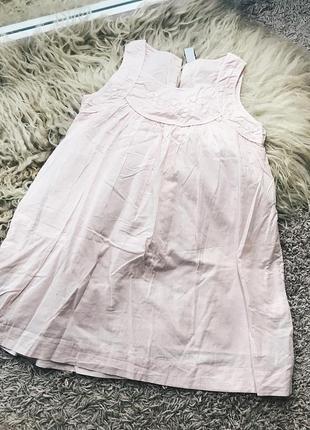 Милое детское платье от zara