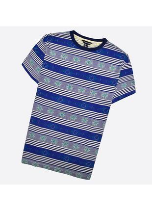Cedarwood state l / лёгкая хлопковая футболка в насыщенный принт орнамент