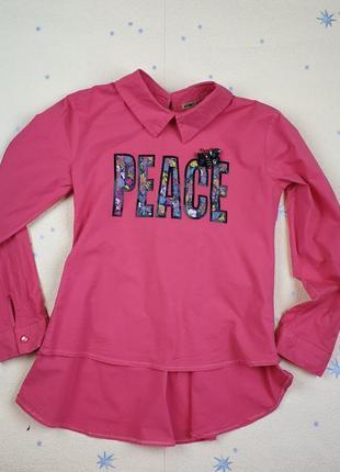 Красивая блузка на рост 152