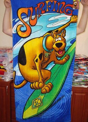 Пляжное полотенце скуби ду