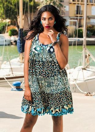 Женская летняя пляжная туника платье можно для беременных 1194 fresh cotton anastasea