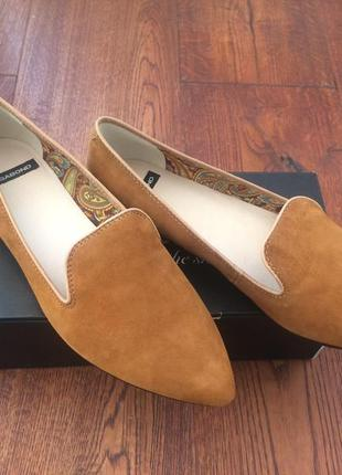 Туфли замшевые vagabond, размер 40, новые