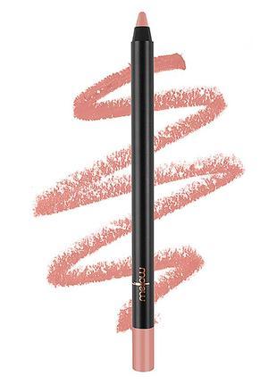 Матовый карандаш для губ с гелевой текстурой mellow cosmetics