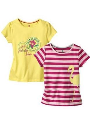 Набор футболки lulilu для девочек 110-116 2 шт.