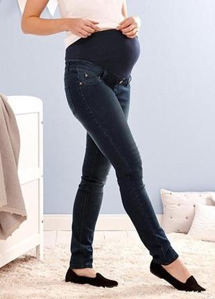 Джинсы для беременных, синий denim от tcm tchibo, германия,