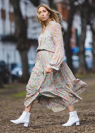 Стильное , актуальное миди платье!