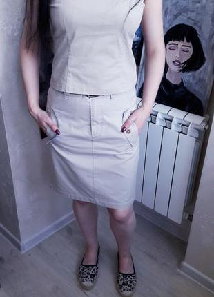 Marc o'polo юбка в стиле сафари