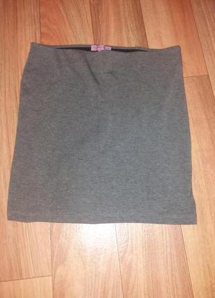 Классическая юбка в офис на лето