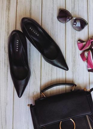 Кожаные туфли лодочки от pesaro 37